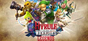 Artwork d'Hyrule Warriors Legends