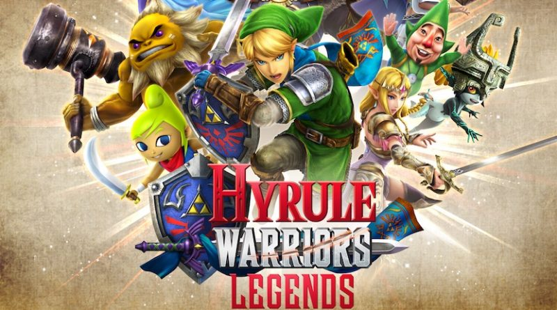 Artwork d'Hyrule Warriors Legends