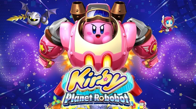 Artwork Kirby Planet Robobot