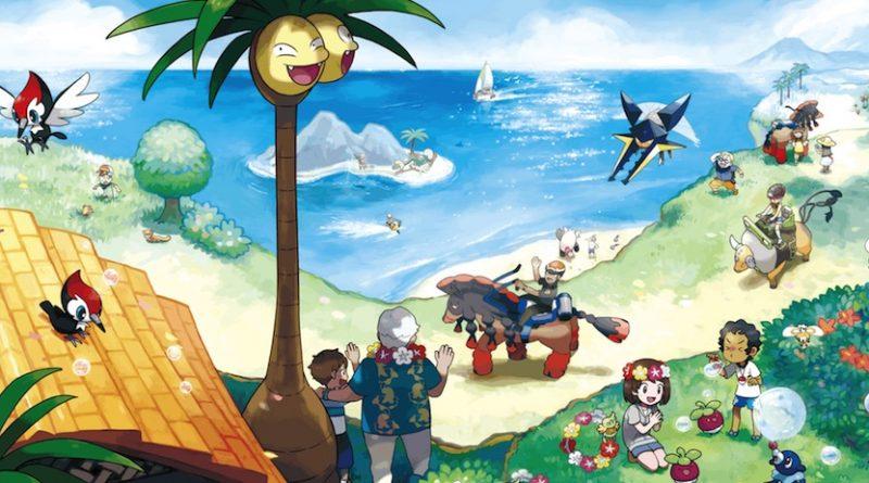 Artwork Pokémon Soleil et Lune