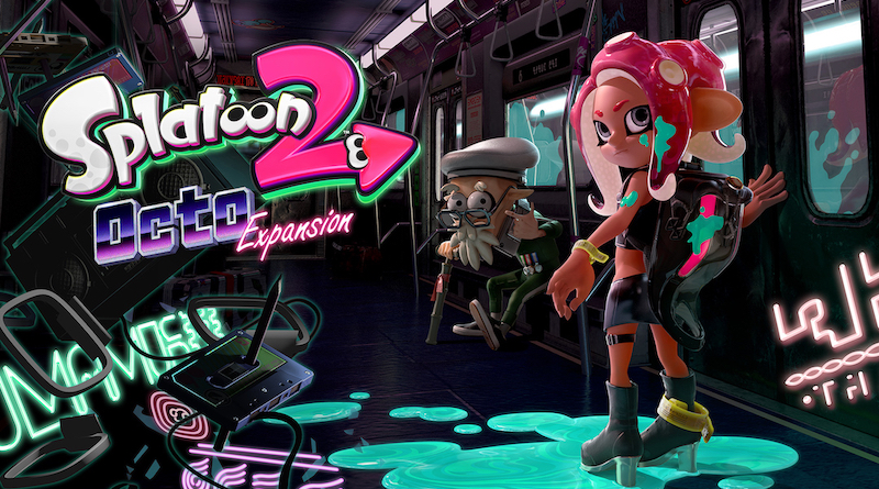 Artwork Splatoon 2 Octo Expansion