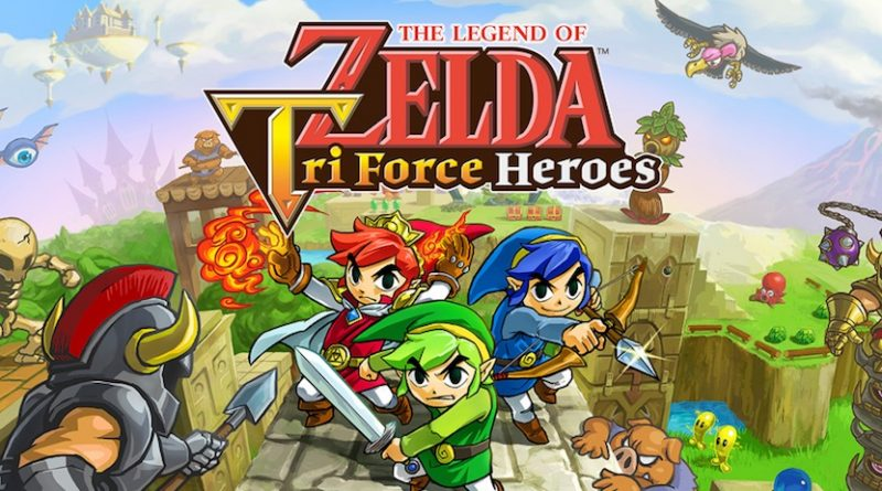 Artwork de The Legend of Zelda : Tri Force Heroes