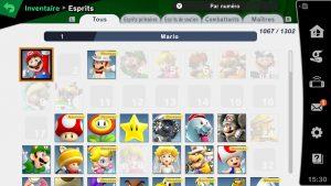 Collection d'esprits - Smash Ultimate