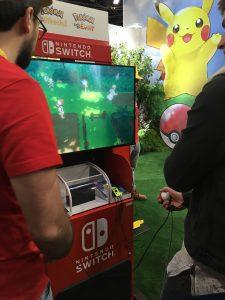 Démo de Pokémon Let's Go