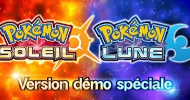Ecran titre Pokémon Soleil & Lune Démo