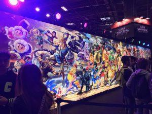 Frise Super Smash Bros. Ultimate - Frise des combattants