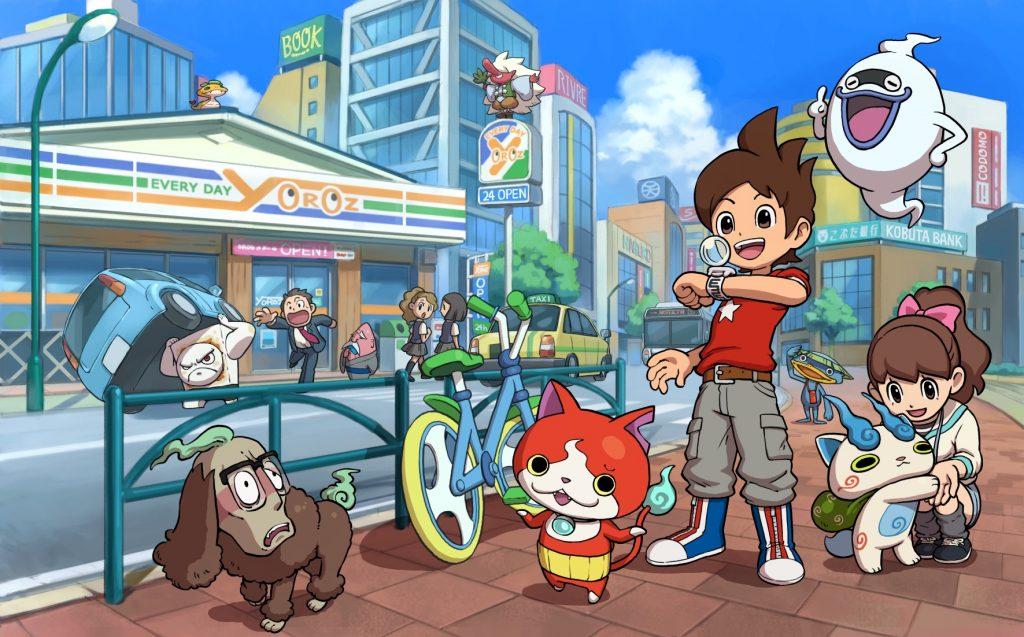 Illustration Yo-kai Watch