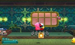 Kirby aspirant un ennemi