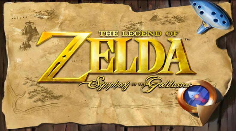 Logo Zelda Symphony of the Goddesses