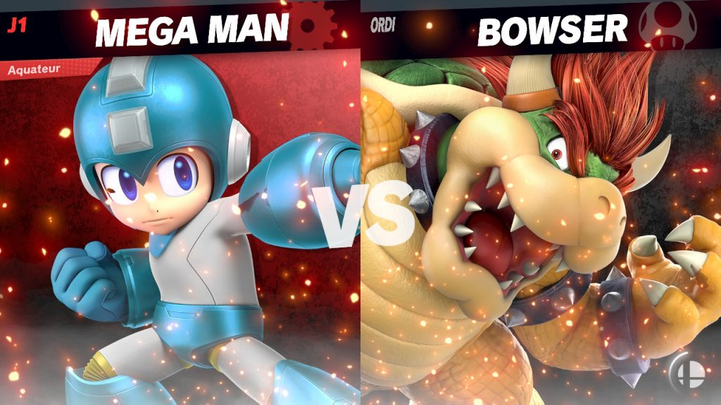 Mega Man VS Bowser