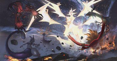 Artwork Ultra Necrozma et les légendaires