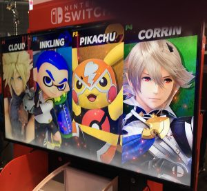Cloud VS Inkling VS Pikachu VS Corrin - Smash Ultimate