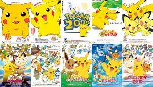 Affiches des mini-films Pokémon