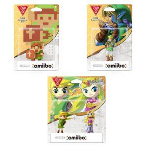 Amiibo Zelda 30 ans
