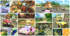 Artwork DLC Mario Kart 8