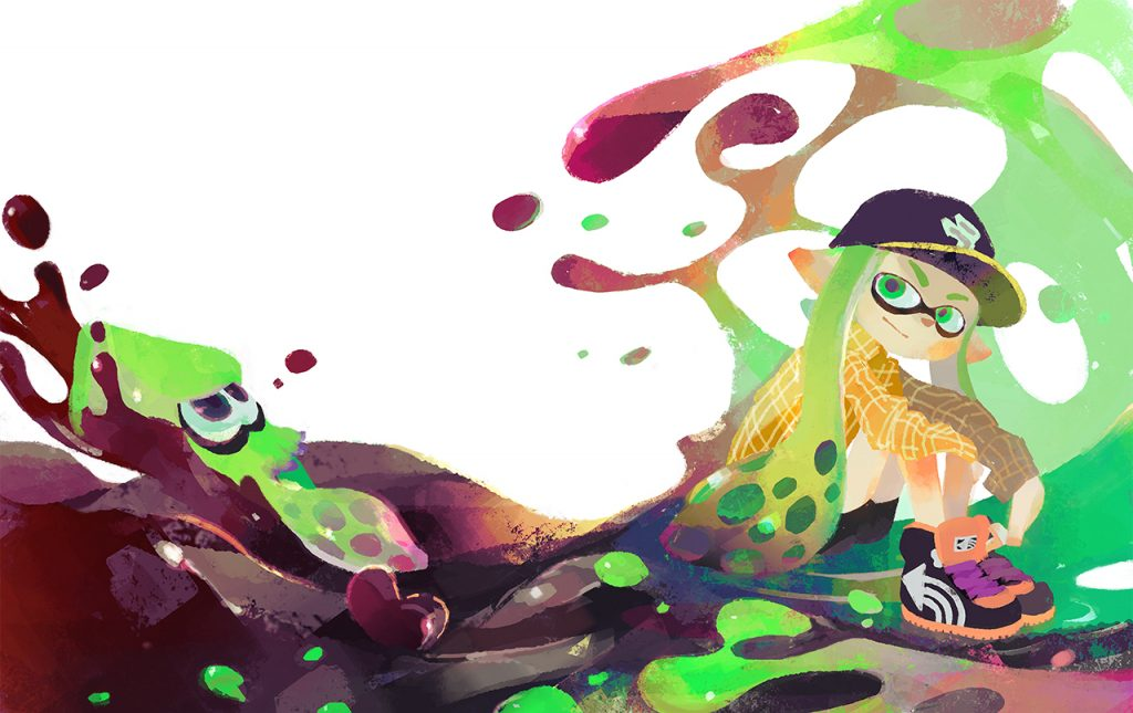 Artwork Inkling calamar