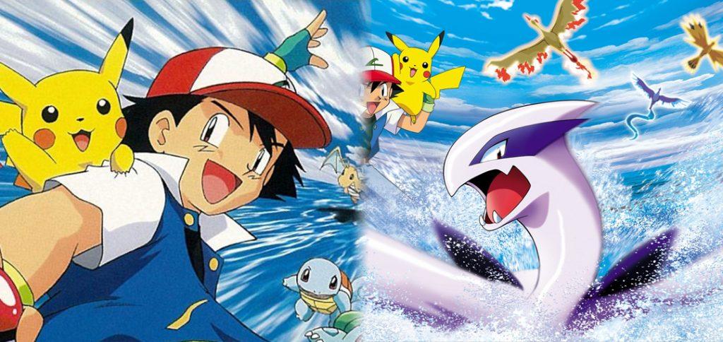 Artwork films Pokémon 1 et 2