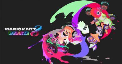 Artwork des Inkling dans Mario Kart 8 Deluxe