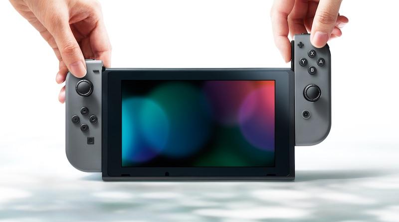 Visuel officiel Nintendo Switch