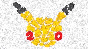 Logo 20 ans Pokémon