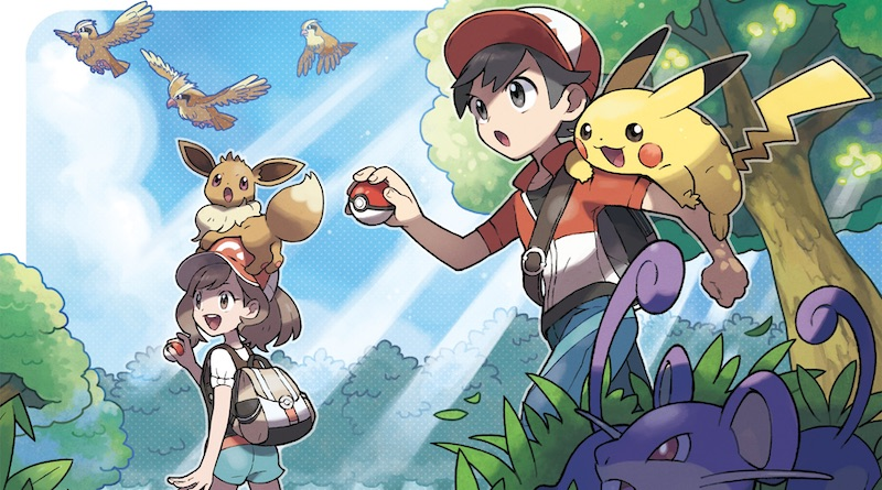 Artwork Pokémon Let's Go