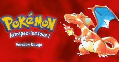 Artwork Pokémon Rouge