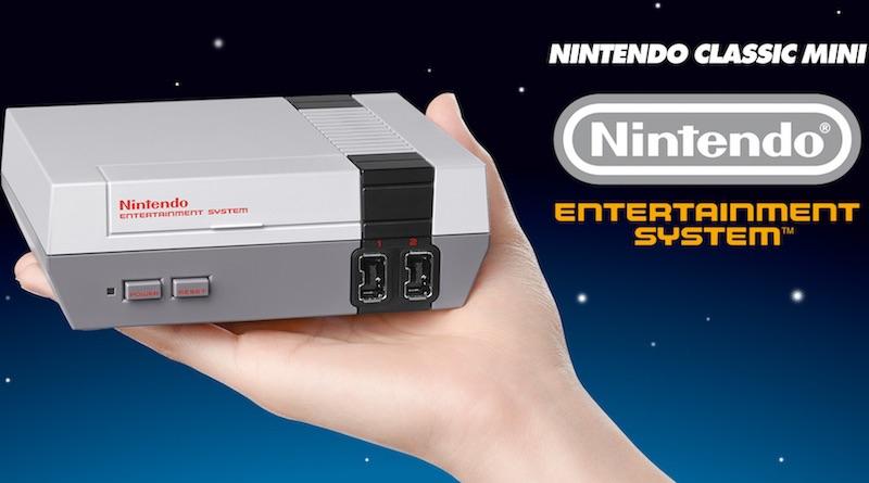 Artwork promotionnel NES Mini