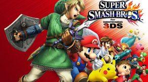 Artwork de Super Smash Bros. for 3DS