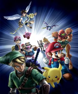 Artwork Super Smash Bros. Brawl