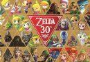 Artwork des 30 ans de Zelda