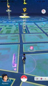 Pokémon GO de nuit