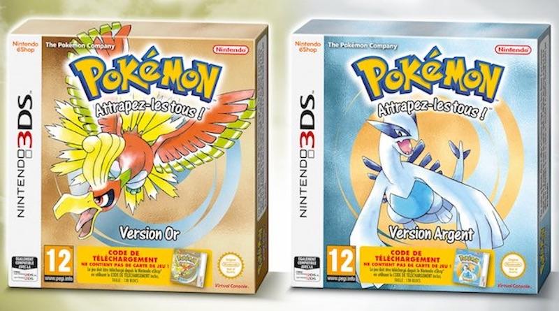 Pokémon Or et Argent en boîte Console Virtuelle