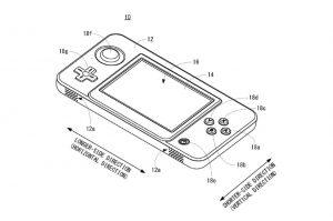 Brevet console portable Nintendo