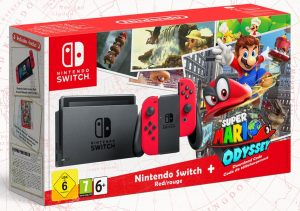 Bundle Switch + Super Mario Odyssey