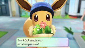 Pokémon Let's Go - Cadeau d'Evoli