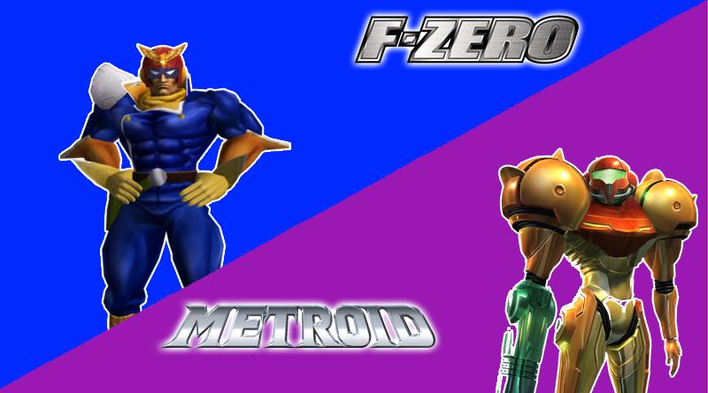 Captain Falcon et Samus