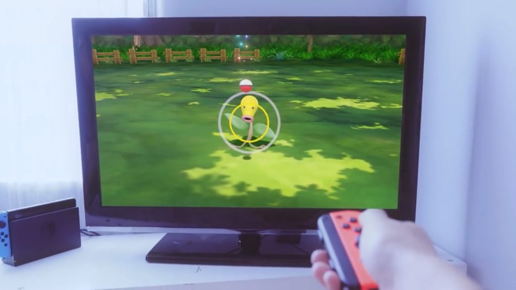 Pokémon Let's Go - Capture au Joy-Con