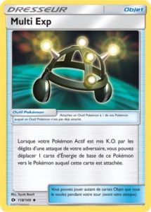 Carte Multi Exp - Pokémon JCC