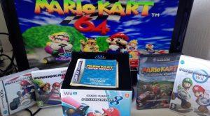 Ma collection de jeux Mario Kart