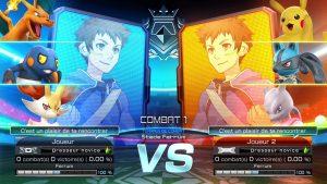 Combat en équipe - Pokken Tournament DX