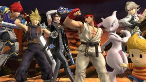 Combattants DLC Smash Bros. 4