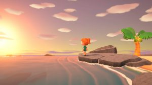 Coucher de Soleil dans Animal Crossing New Horizons