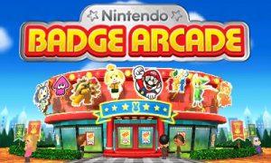 Ecran titre Nintendo Badge Arcade