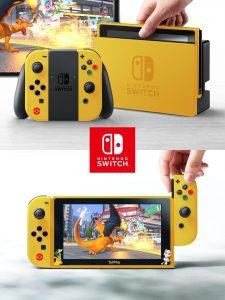 Fan art de Nintendo Switch Pokémon