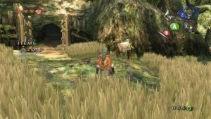 Image de gameplay de Twilight Princess