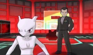 Giovanni & Mewtwo