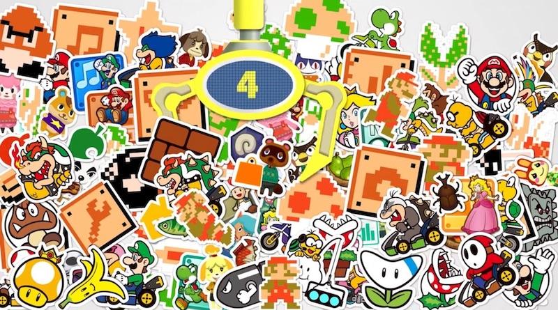 Illustration Nintendo Badge Arcade