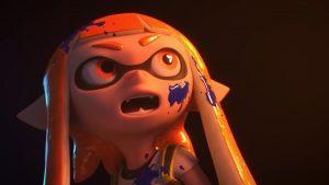 Annonce Inkling dans Smash Bros.