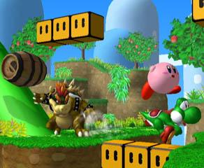 Bowser, Kirby & Yoshi - Super Smash Bros. Melee
