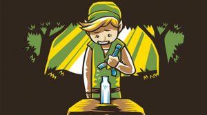 Link casse la Master Sword